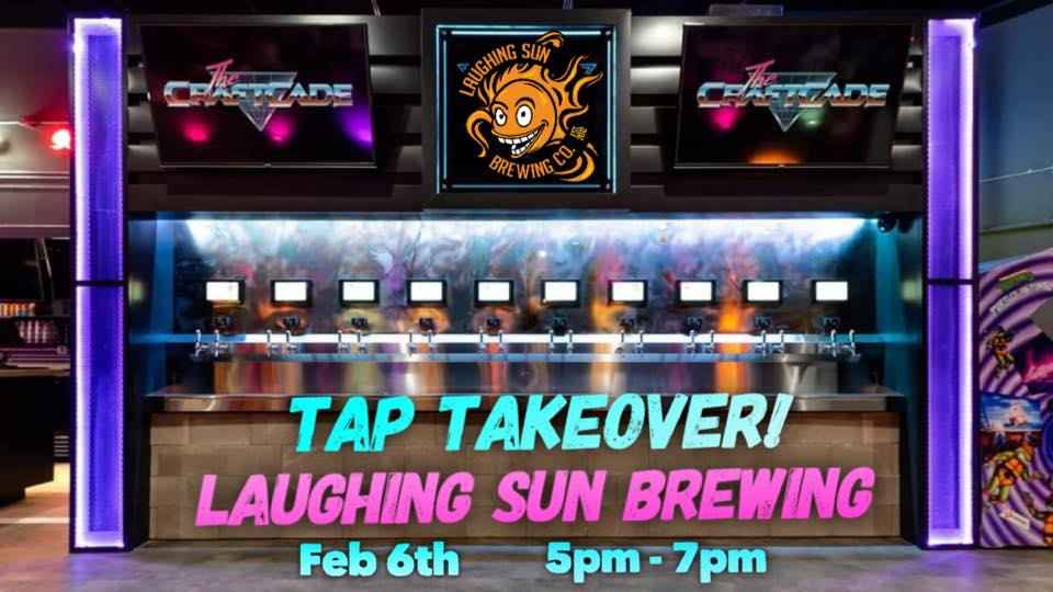 Tap Takeover at The CraftCade barcade