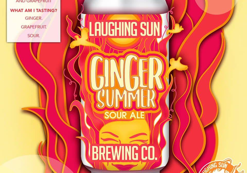 Ginger Summer Sour Ale craft beer