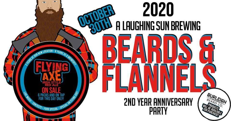 Beards & Flannels: A 2nd Anniversary Party 🎵
