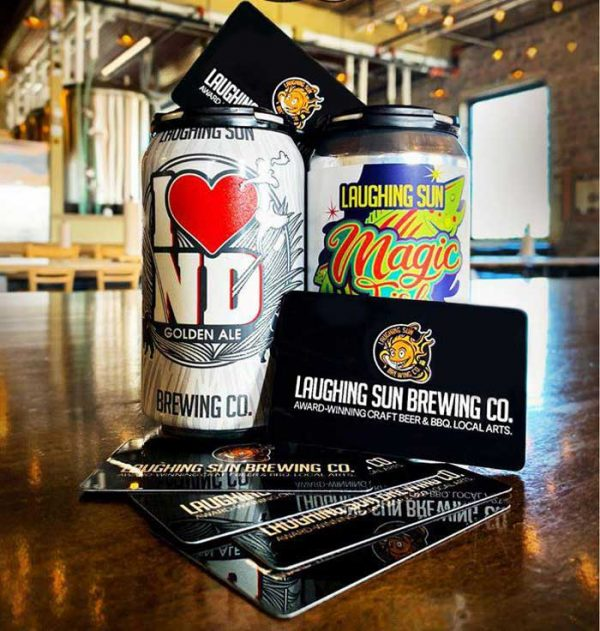 Bismarck restaurant and brewery gift cards
