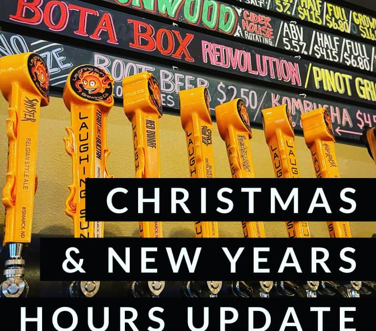 Updated Hours and Holiday Hours