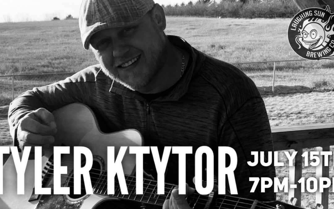 Live Music! Tyler Ktytor on the SunStage 🎵