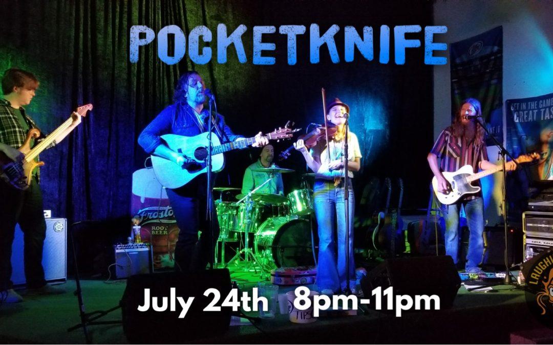 Live Music! PocketKnife 🎵