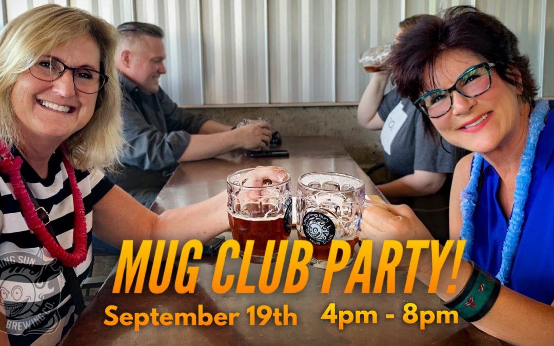 MUG CLUB Party 🍻